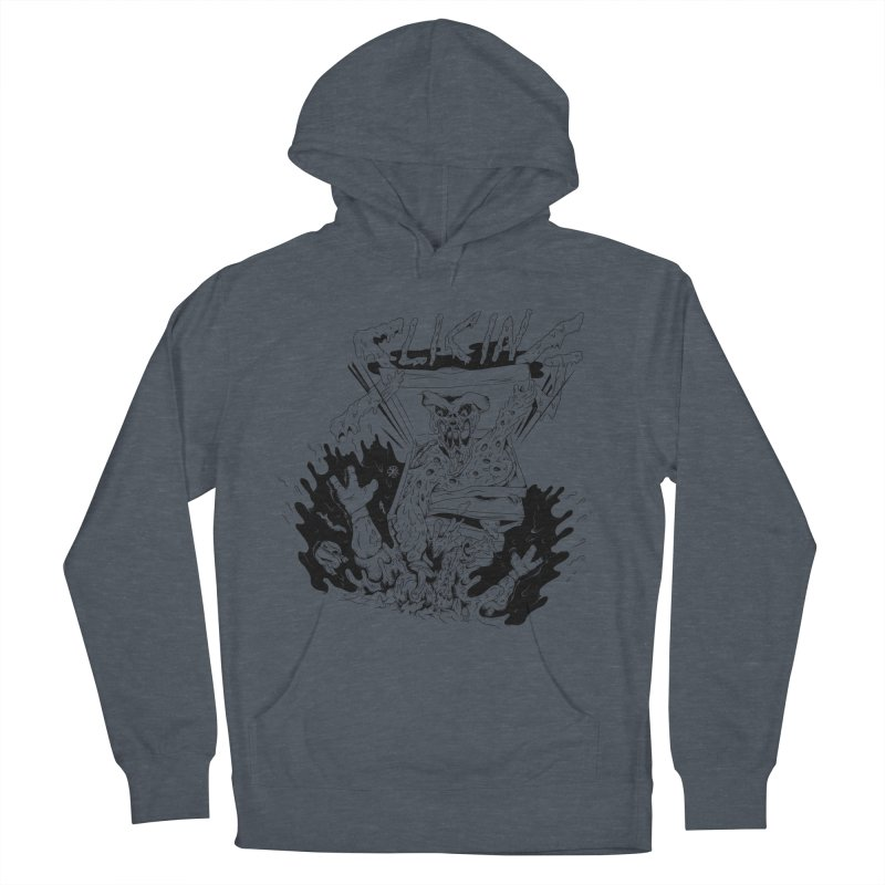 Slicing Women's French Terry Pullover Hoody by controlx's Artist Shop