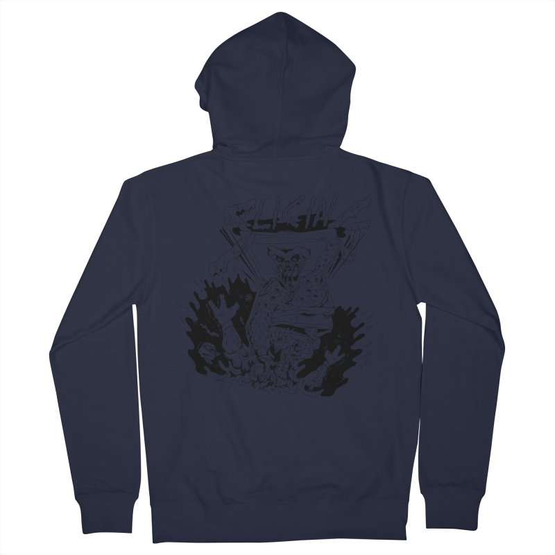 Slicing Women's French Terry Zip-Up Hoody by controlx's Artist Shop