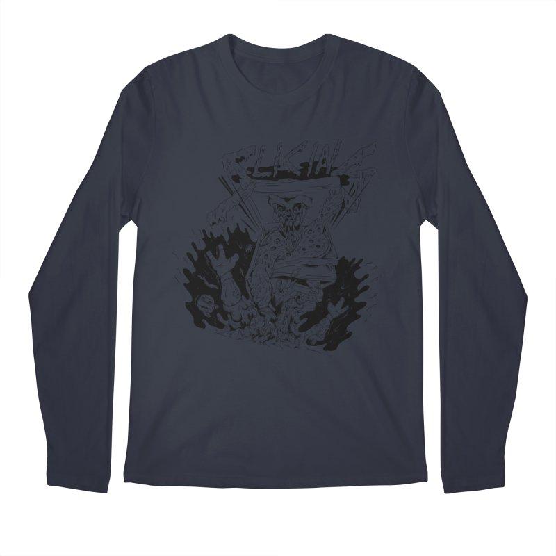 Slicing Men's Regular Longsleeve T-Shirt by controlx's Artist Shop