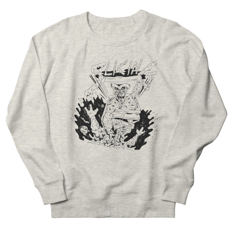 Slicing Men's French Terry Sweatshirt by controlx's Artist Shop