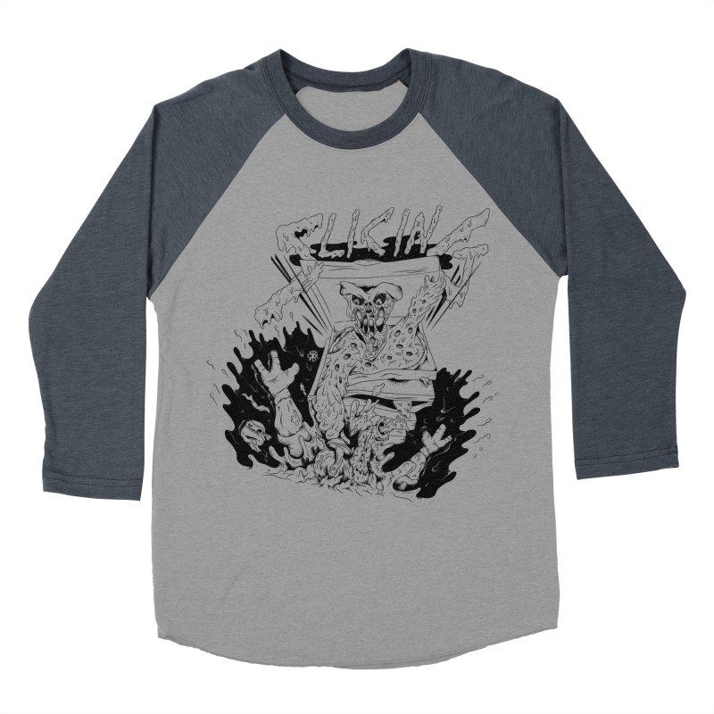 Slicing Women's Baseball Triblend Longsleeve T-Shirt by controlx's Artist Shop