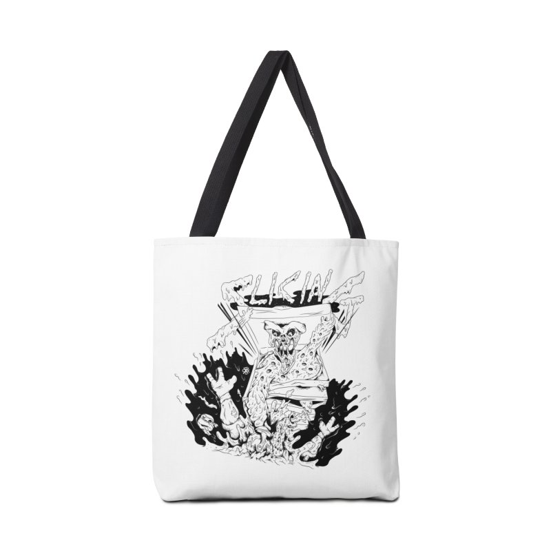 Slicing Accessories Tote Bag Bag by controlx's Artist Shop