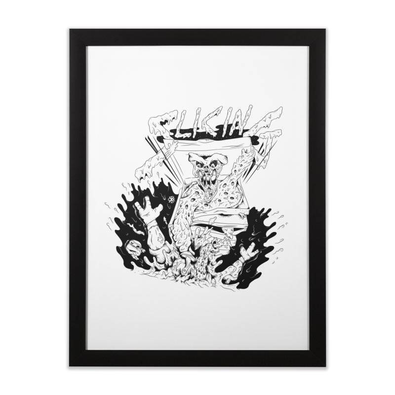 Slicing Home Framed Fine Art Print by controlx's Artist Shop