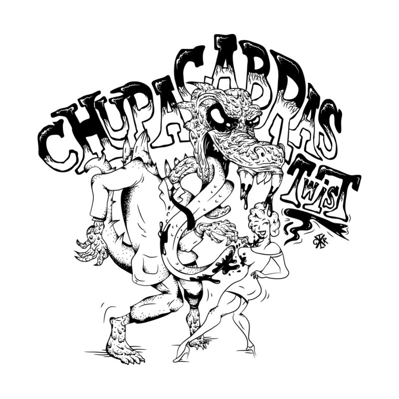 Chupacabras Twist Men's T-Shirt by controlx's Artist Shop