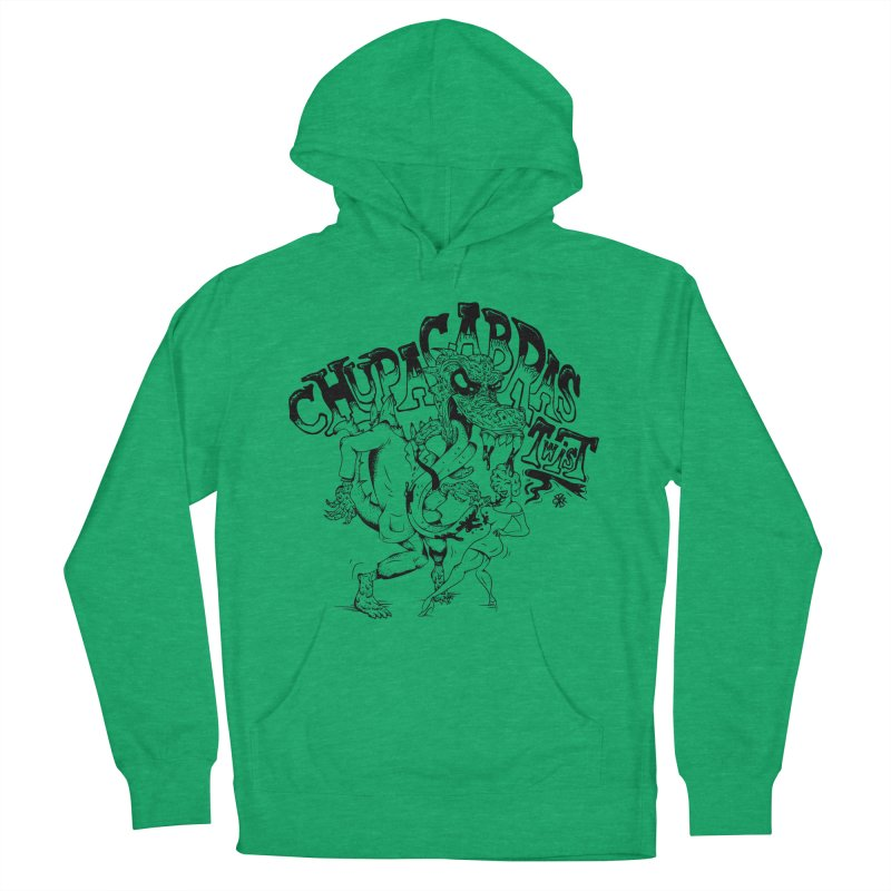 Chupacabras Twist Women's French Terry Pullover Hoody by controlx's Artist Shop