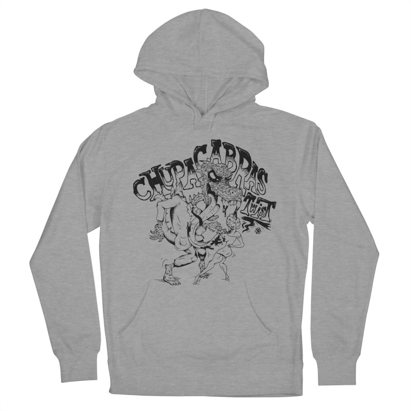 Chupacabras Twist Men's French Terry Pullover Hoody by controlx's Artist Shop