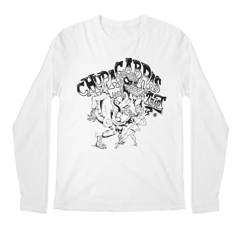 Chupacabras Twist Men's Regular Longsleeve T-Shirt by controlx's Artist Shop