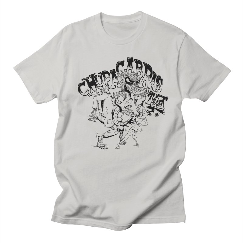 Chupacabras Twist Women's Regular Unisex T-Shirt by controlx's Artist Shop