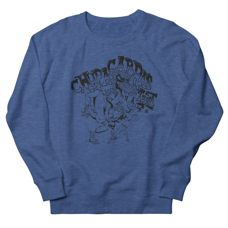Chupacabras Twist Women's French Terry Sweatshirt by controlx's Artist Shop