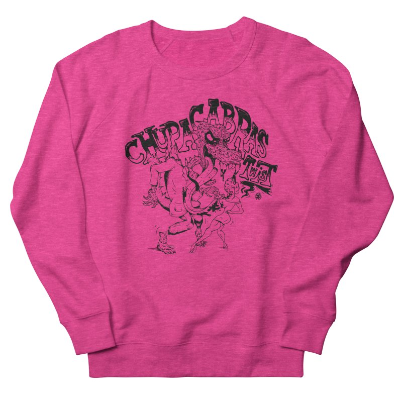 Chupacabras Twist Men's French Terry Sweatshirt by controlx's Artist Shop