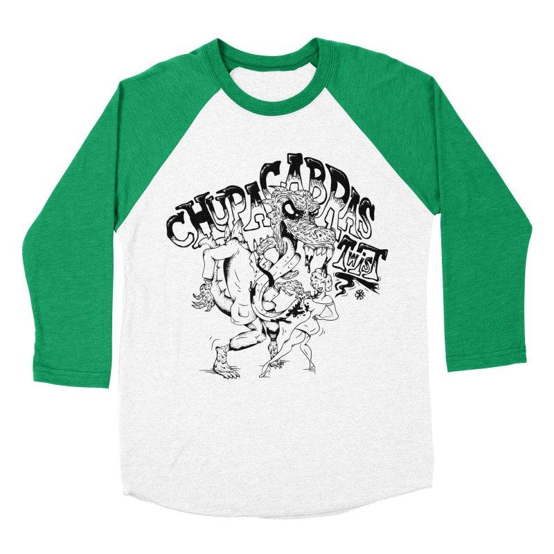Chupacabras Twist Women's Baseball Triblend Longsleeve T-Shirt by controlx's Artist Shop