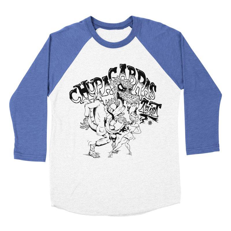 Chupacabras Twist Men's Baseball Triblend Longsleeve T-Shirt by controlx's Artist Shop