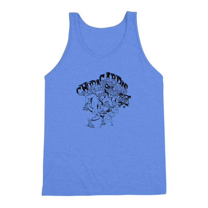 Chupacabras Twist Men's Triblend Tank by controlx's Artist Shop