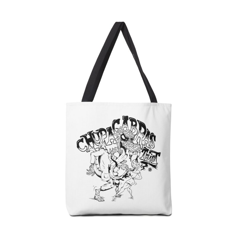 Chupacabras Twist Accessories Tote Bag Bag by controlx's Artist Shop