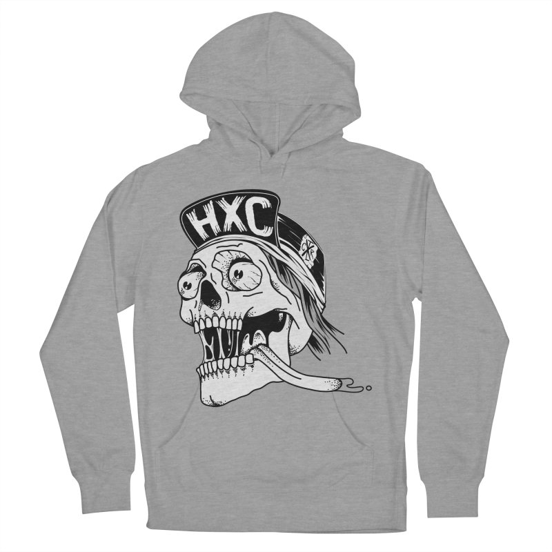 HxC Skull Women's French Terry Pullover Hoody by controlx's Artist Shop