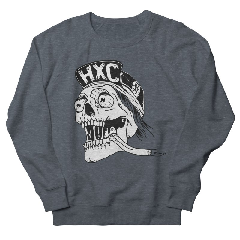 HxC Skull Women's French Terry Sweatshirt by controlx's Artist Shop