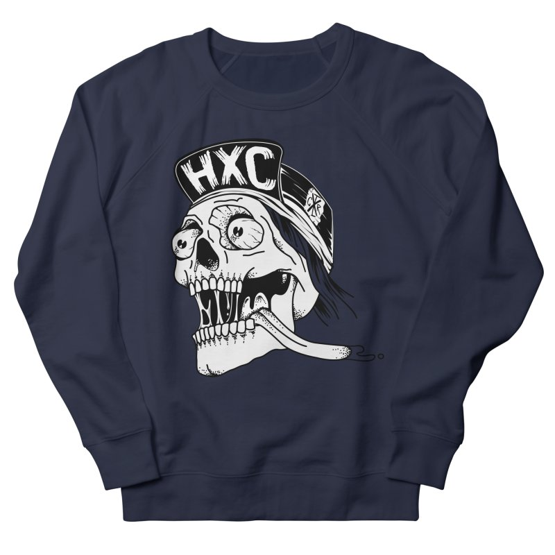 HxC Skull Women's French Terry Sweatshirt by controlx's Artist Shop