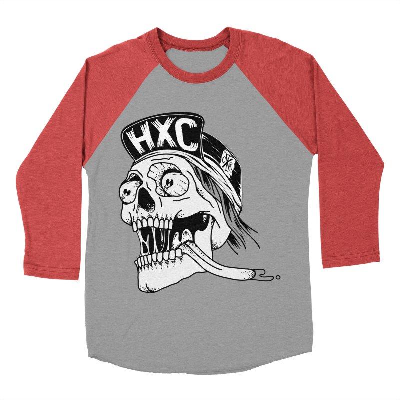 HxC Skull Women's Baseball Triblend Longsleeve T-Shirt by controlx's Artist Shop
