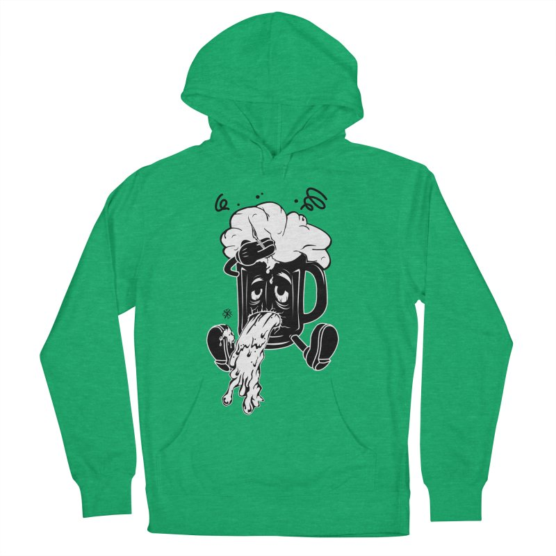 Beer Drunk! Women's French Terry Pullover Hoody by controlx's Artist Shop