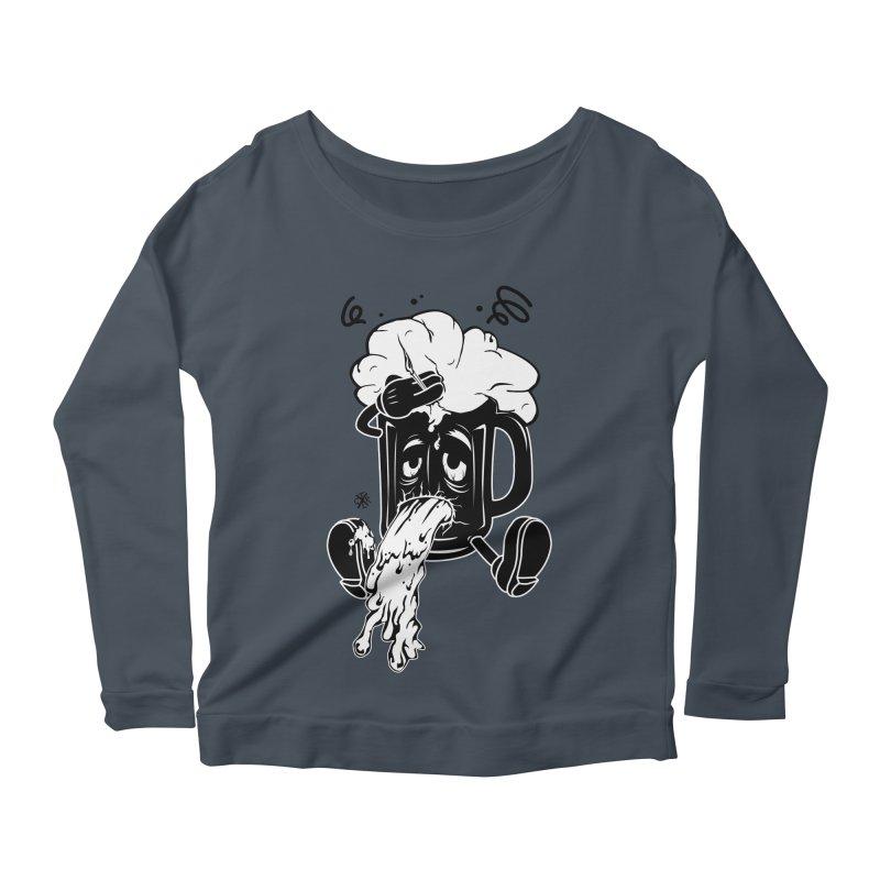 Beer Drunk! Women's Scoop Neck Longsleeve T-Shirt by controlx's Artist Shop