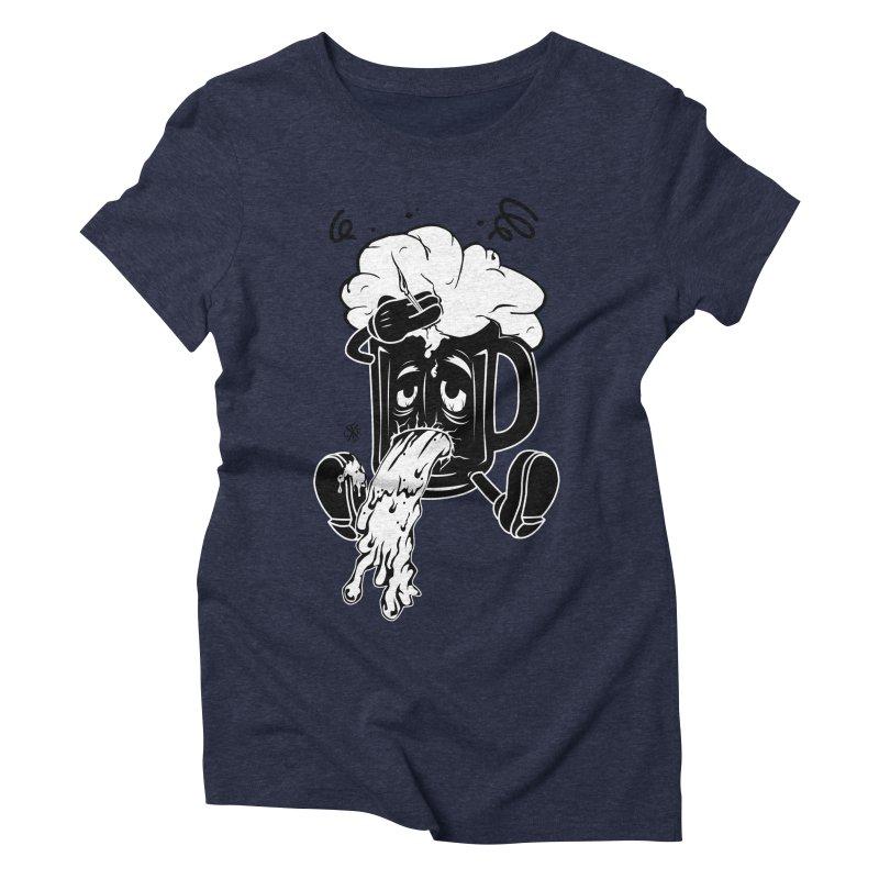 Beer Drunk! Women's Triblend T-Shirt by controlx's Artist Shop