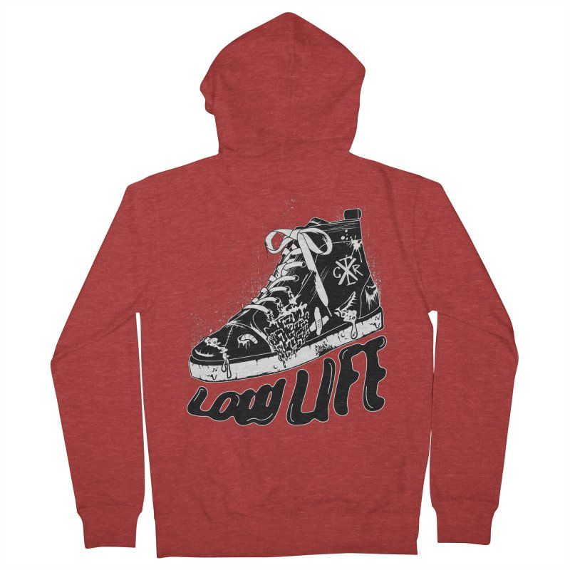 Low LIfe Women's French Terry Zip-Up Hoody by controlx's Artist Shop