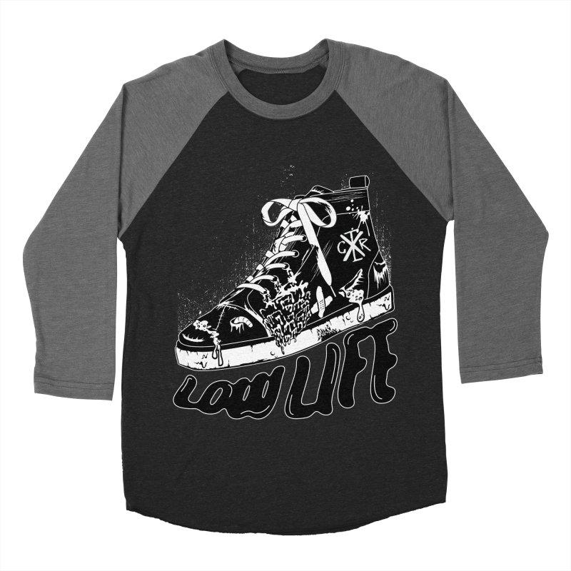Low LIfe Women's Baseball Triblend Longsleeve T-Shirt by controlx's Artist Shop