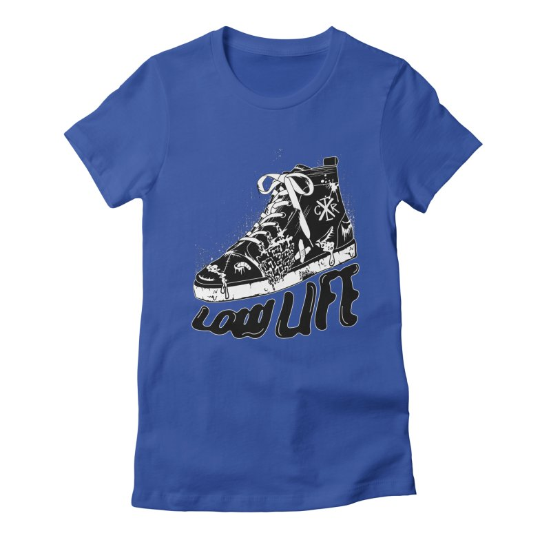 Low LIfe Women's Fitted T-Shirt by controlx's Artist Shop