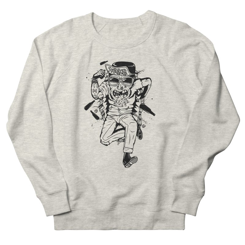 Skanker Men's French Terry Sweatshirt by controlx's Artist Shop
