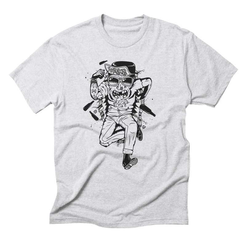 Skanker Men's Triblend T-Shirt by controlx's Artist Shop