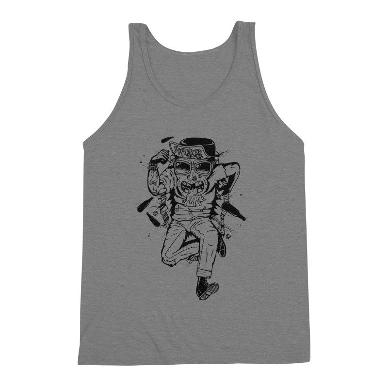Skanker Men's Triblend Tank by controlx's Artist Shop