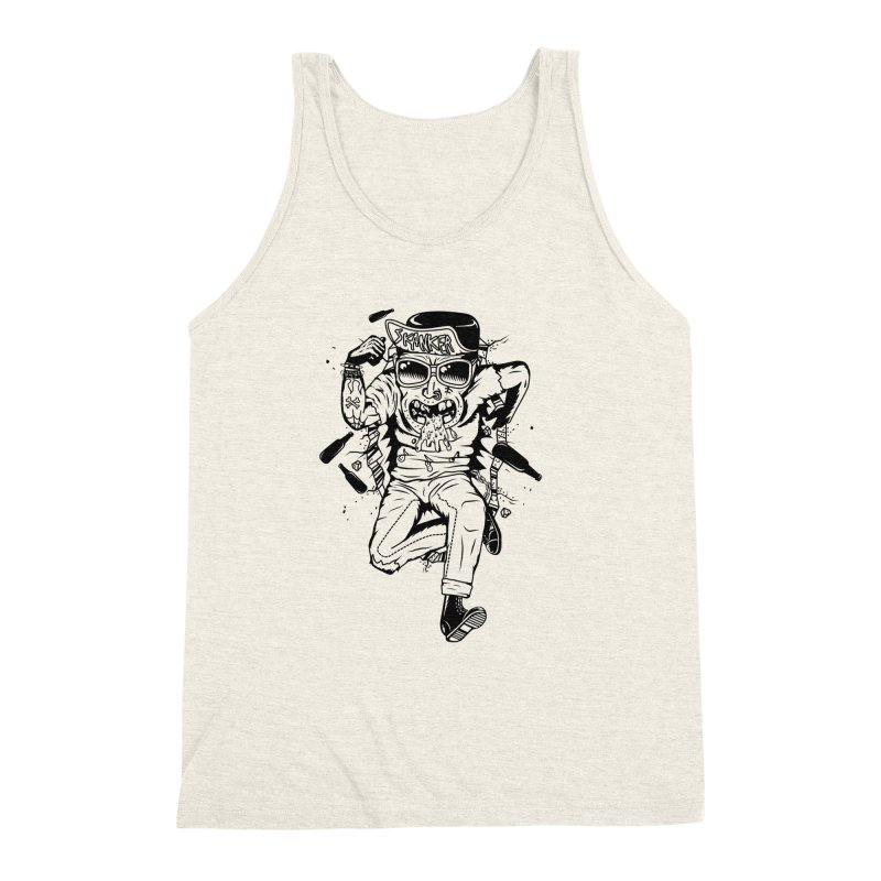 Skanker Men's Triblend Tank by controlx's Artist Shop