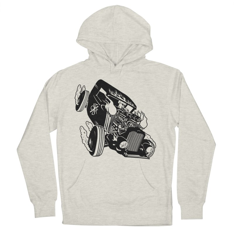 Rartrod Men's French Terry Pullover Hoody by controlx's Artist Shop