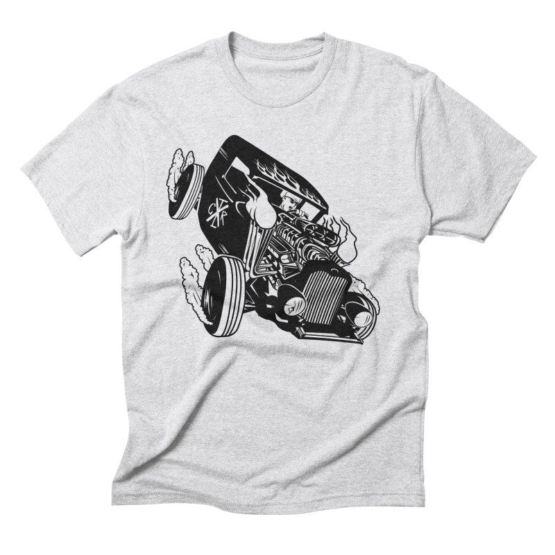 Rartrod Men's Triblend T-Shirt by controlx's Artist Shop