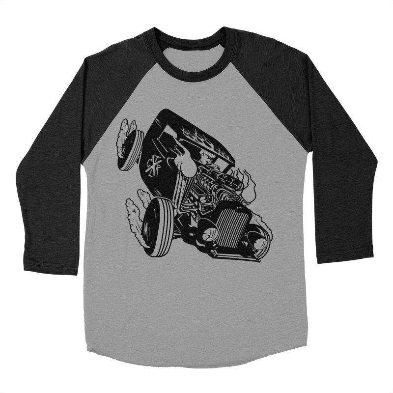 Rartrod Men's Baseball Triblend Longsleeve T-Shirt by controlx's Artist Shop