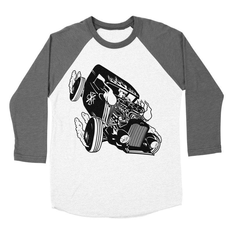 Rartrod Men's Baseball Triblend Longsleeve T-Shirt by controlx's Artist Shop