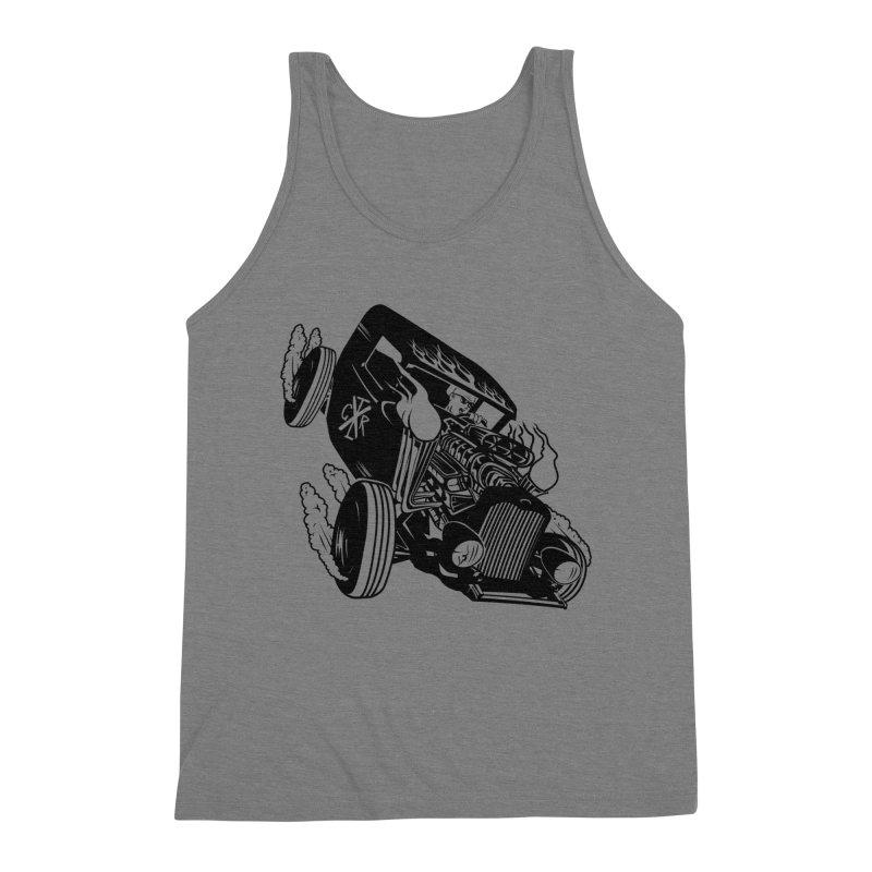 Rartrod Men's Triblend Tank by controlx's Artist Shop