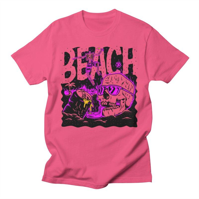Beach Men's T-Shirt by controlx's Artist Shop