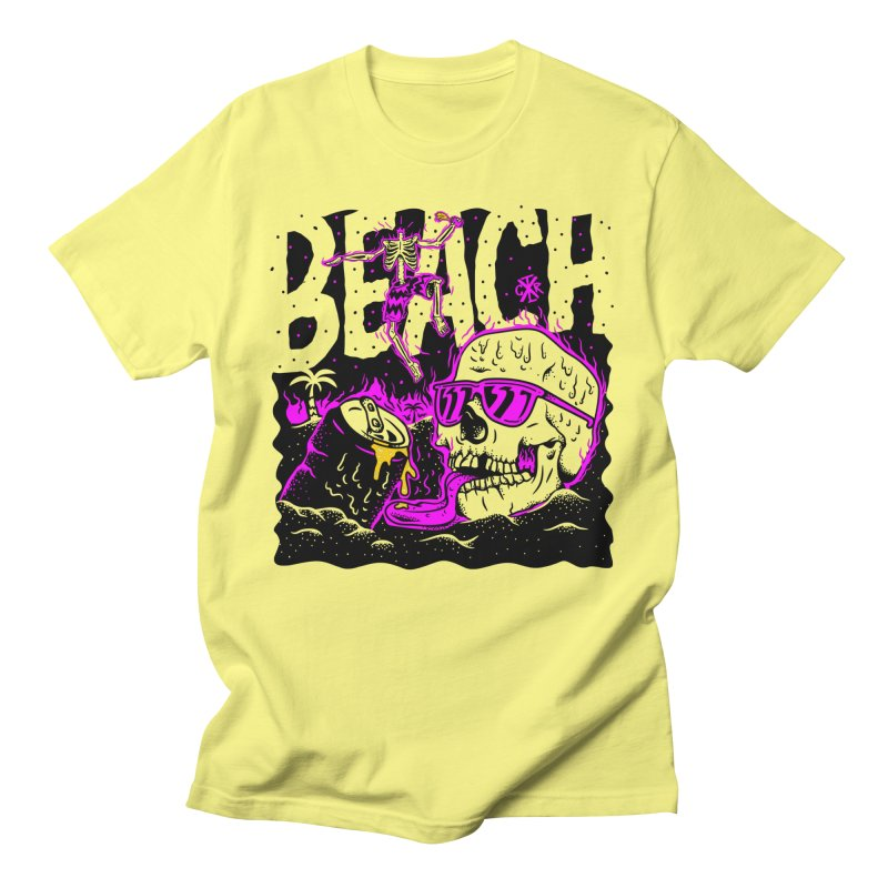 Beach Men's T-Shirt by controlx's Artist Shop