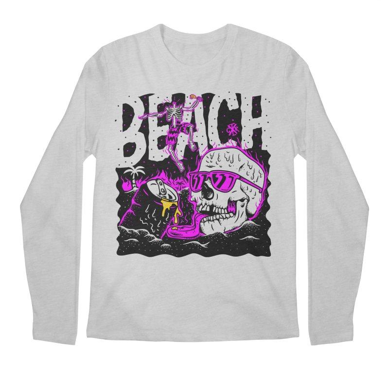 Beach Men's Regular Longsleeve T-Shirt by controlx's Artist Shop