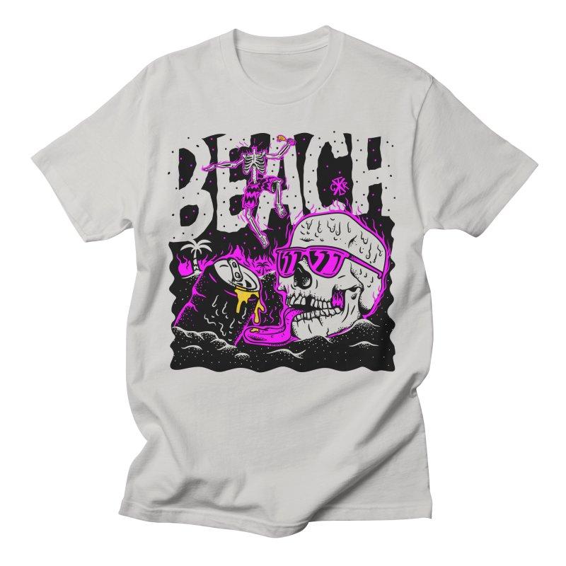 Beach Women's Regular Unisex T-Shirt by controlx's Artist Shop