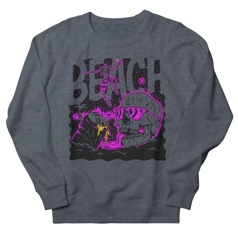 Beach Women's French Terry Sweatshirt by controlx's Artist Shop