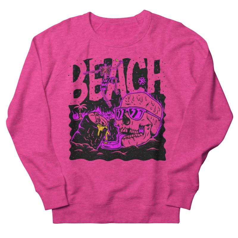 Beach Men's French Terry Sweatshirt by controlx's Artist Shop