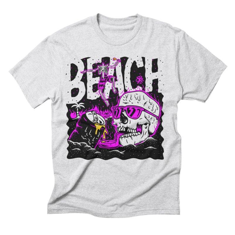 Beach Men's Triblend T-Shirt by controlx's Artist Shop