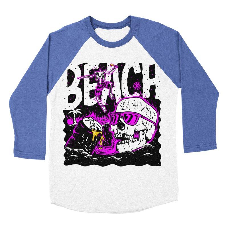 Beach Women's Baseball Triblend Longsleeve T-Shirt by controlx's Artist Shop