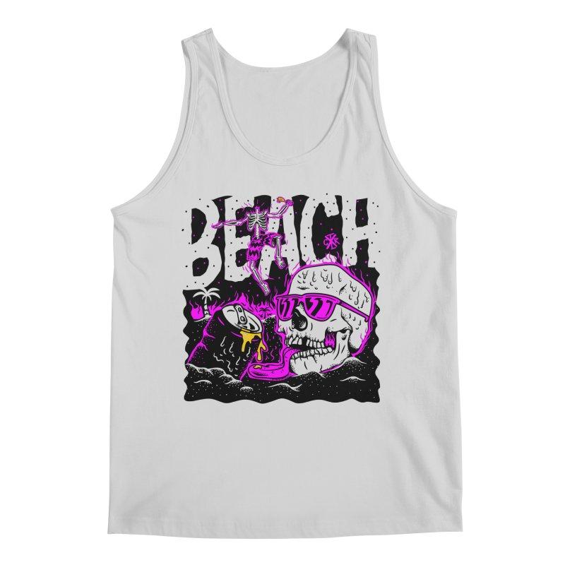 Beach Men's Regular Tank by controlx's Artist Shop