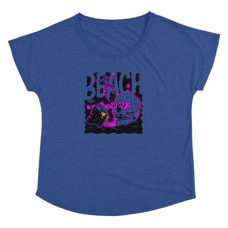 Beach Women's Dolman Scoop Neck by controlx's Artist Shop
