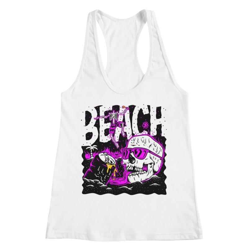Beach Women's Racerback Tank by controlx's Artist Shop