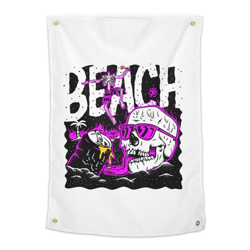 Beach Home Tapestry by controlx's Artist Shop