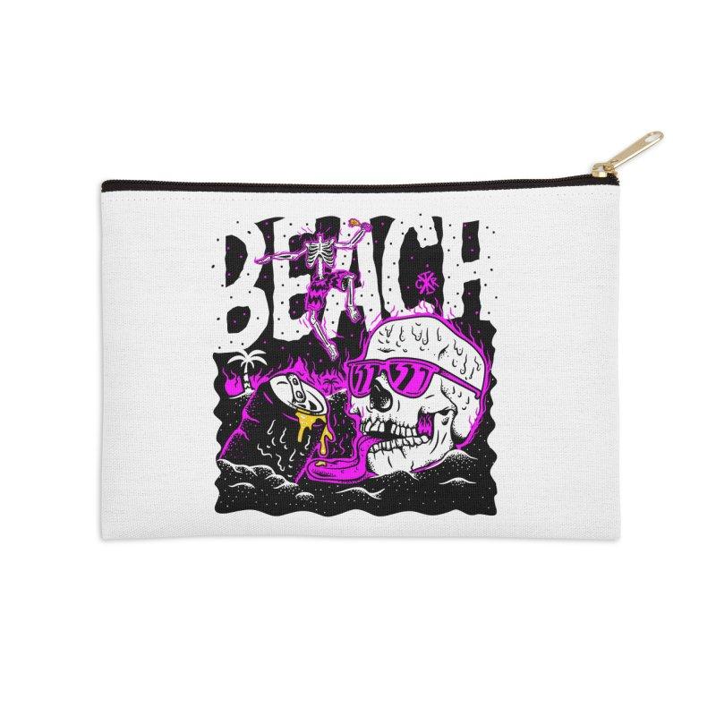 Beach Accessories Zip Pouch by controlx's Artist Shop